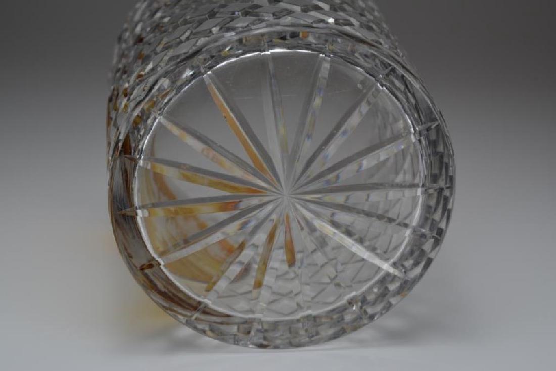 BOHEMIAN GLASS WINE COOLER - 4