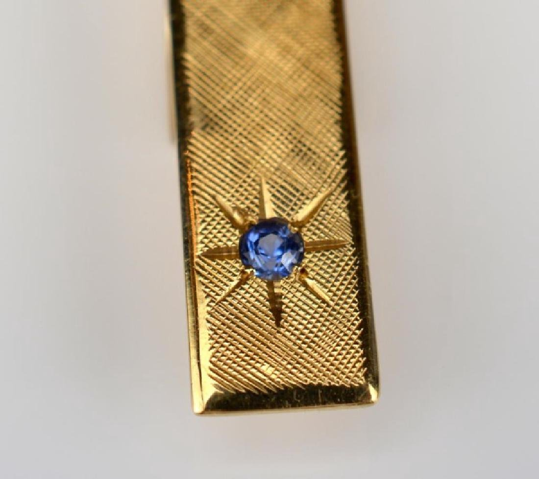 TIFFANY & CO. YELLOW GOLD TIE CLIP - 3