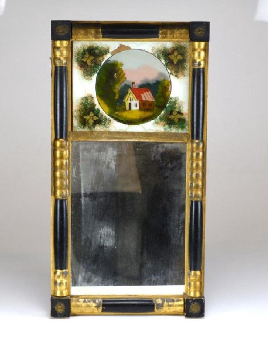 ANTIQUE FEDERAL STYLE MIRROR