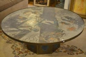 PHILIP AND KELVIN LAVERNE LARGE CHAN COFFEE TABLE