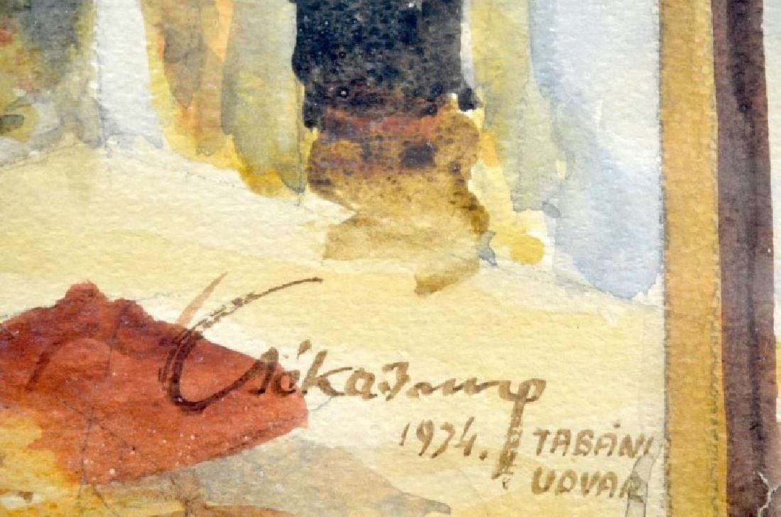 WATERCOLOUR (Hungarian, 20th C.) - 2