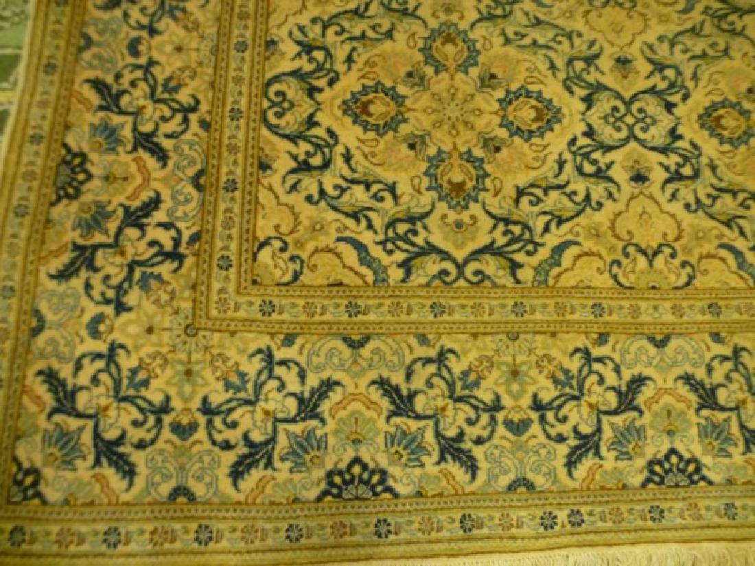 Persian Silk and Wool Rug