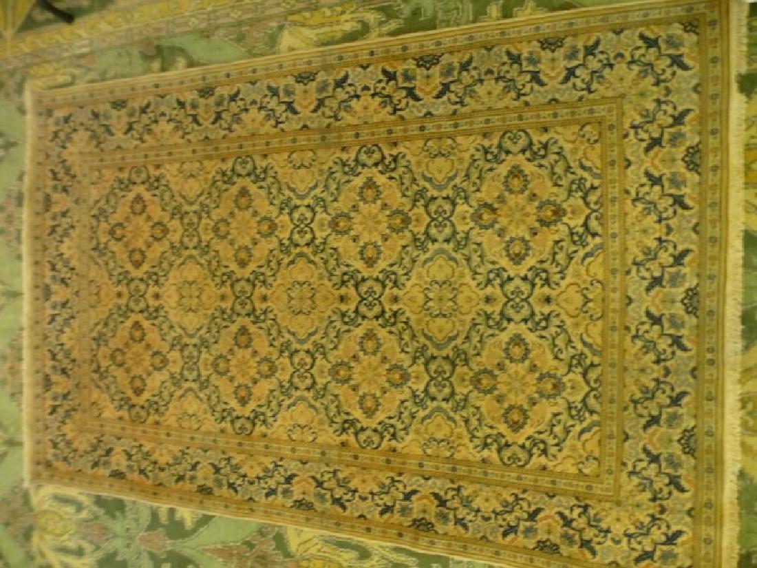 Persian Silk and Wool Rug - 2