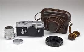 Leica M3 Camera Body and Lens