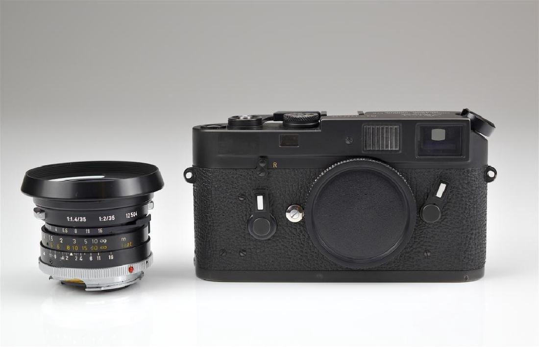 Leica M4 Camera Body and Lens