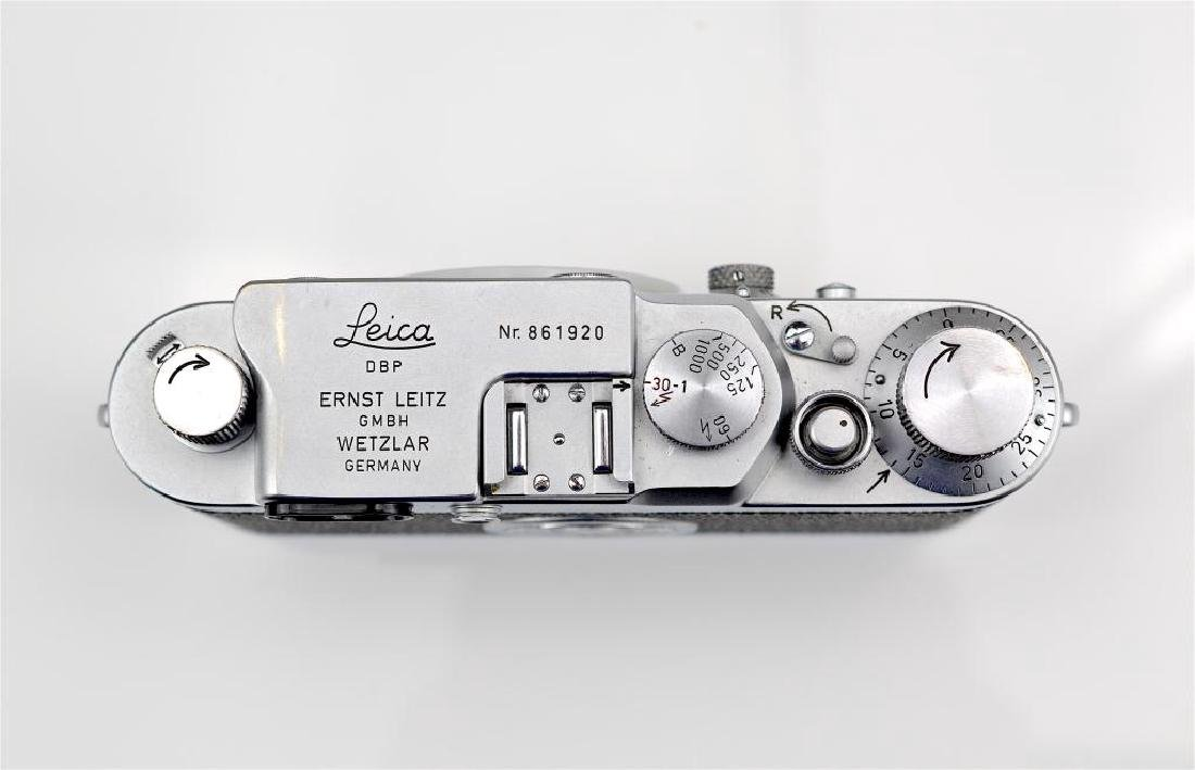 Leica IIIG Camera Body and Lenses - 8
