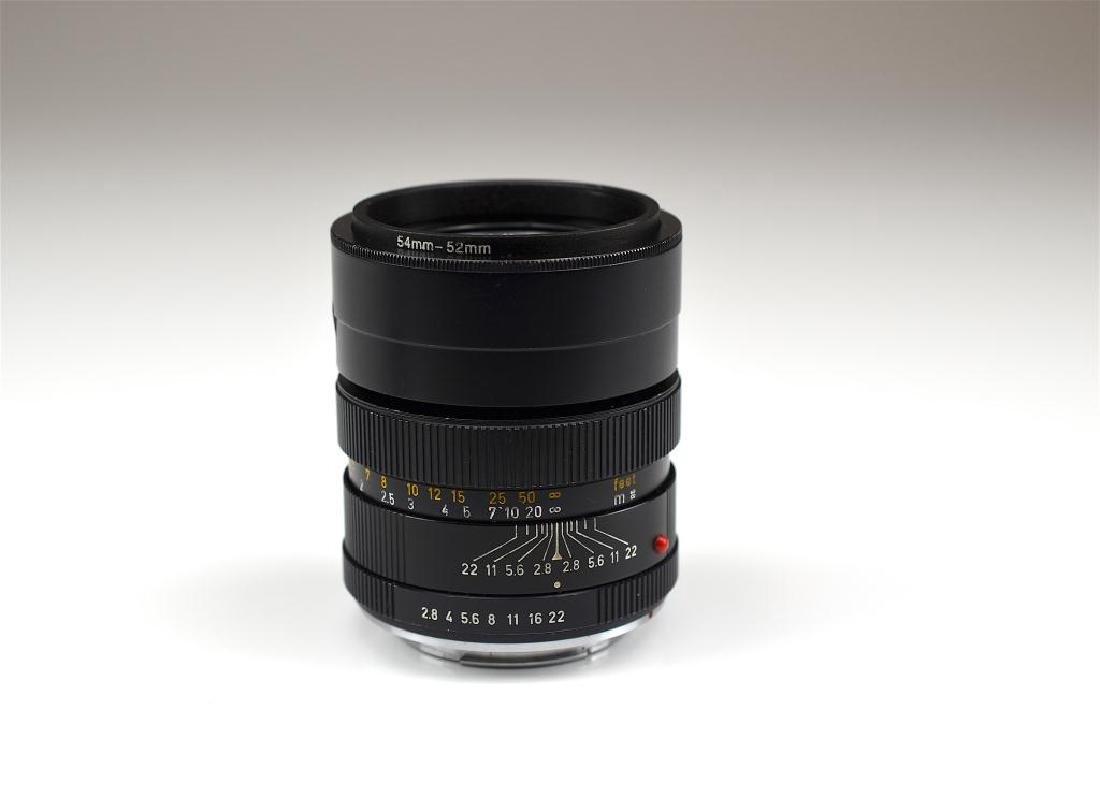 Leitz Wetzlar 90mm Elmarit-R f=1:2.8 Lens