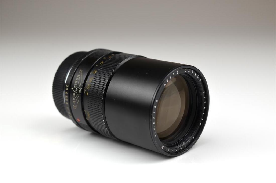 Leitz Canada 135mm Elmarit-R f=1:2.8 Lens