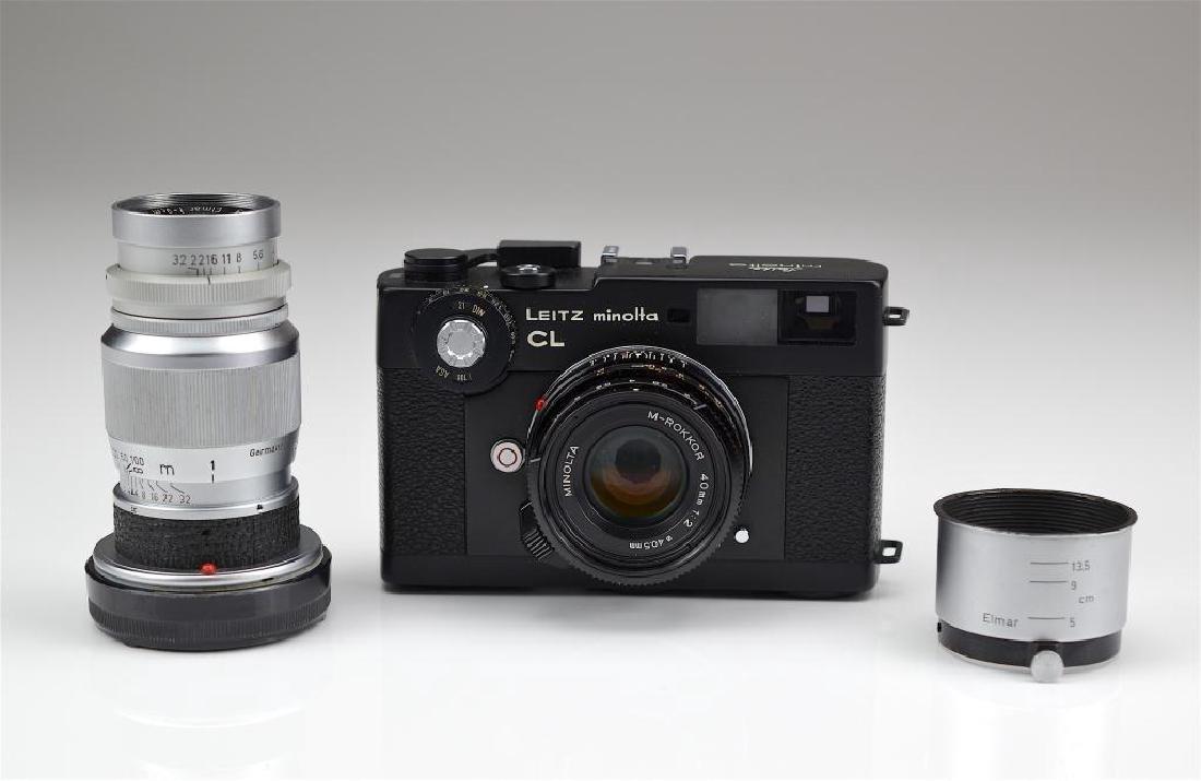 Leitz Minolta CL Camera Body and Lens