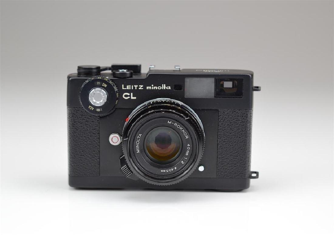 Leitz Minolta CL Camera Body and Lens - 4