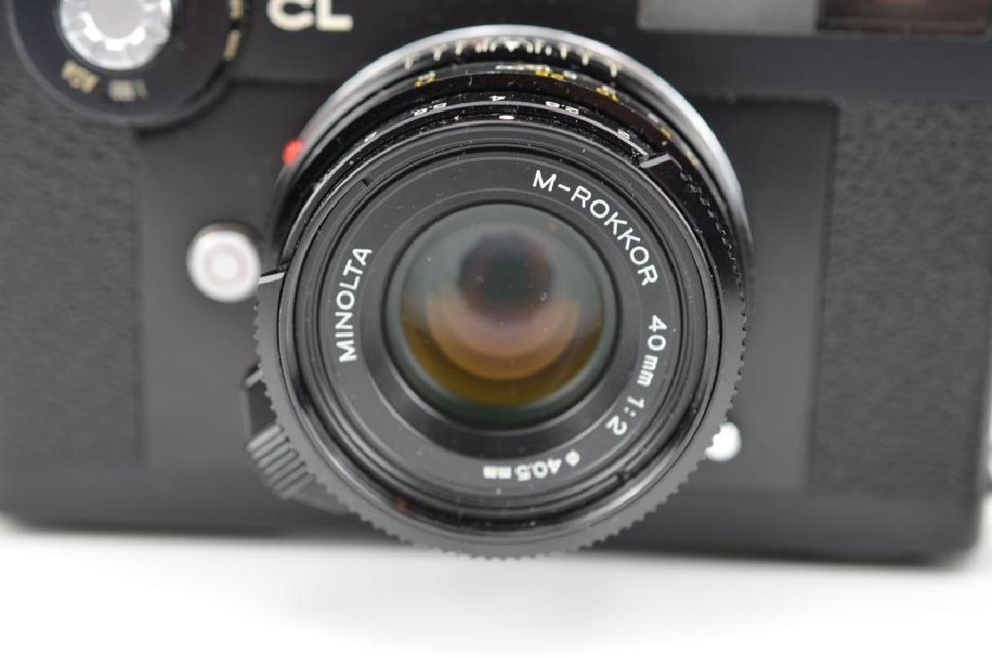 Leitz Minolta CL Camera Body and Lens - 7