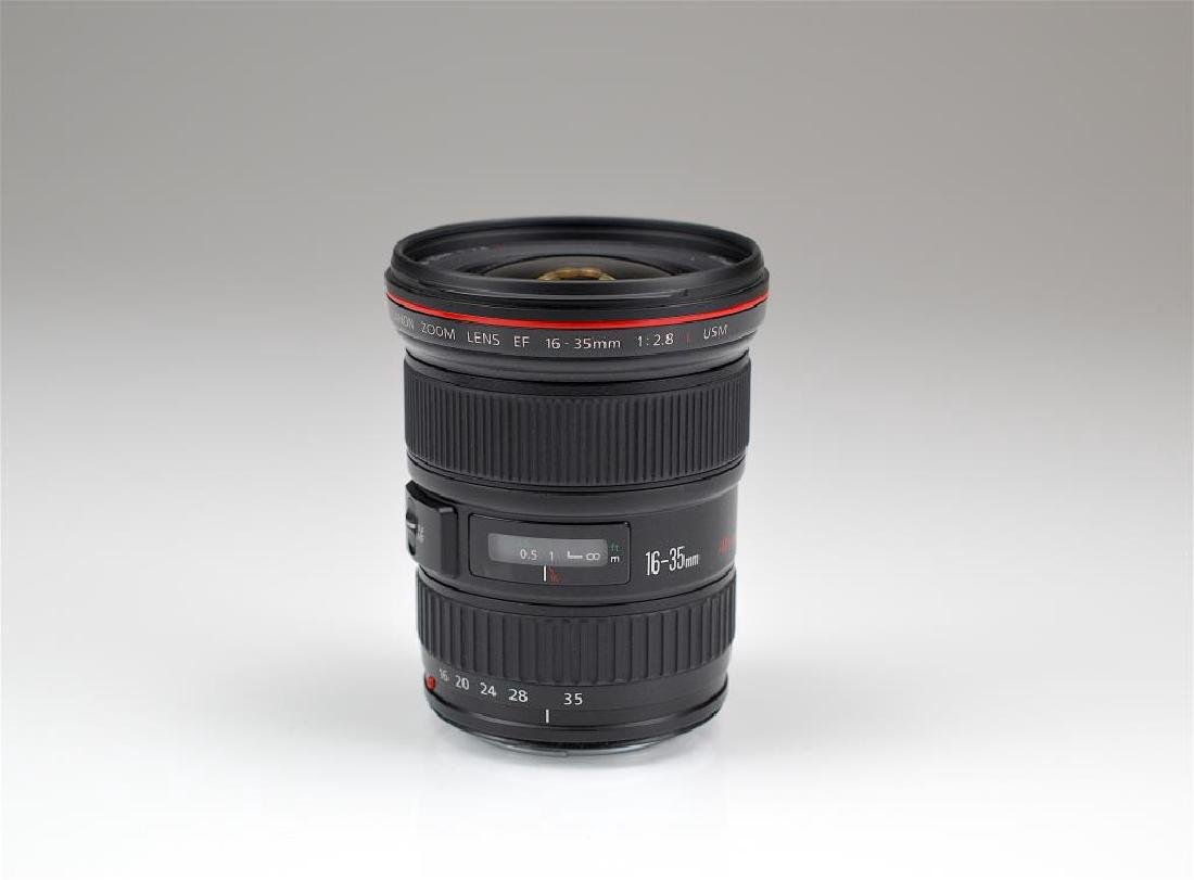 Canon 16-35mm L Ultra Wide Angle Lens - 2
