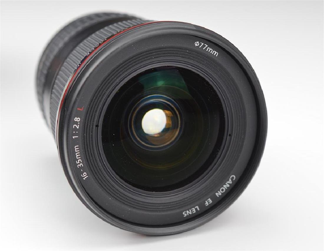 Canon 16-35mm L Ultra Wide Angle Lens - 4