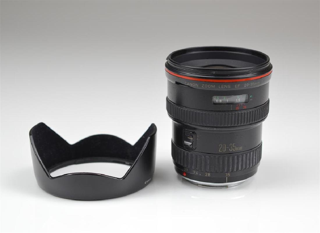 """Canon 20-35mm """"L""""  Zoom Wide Angle Lens - 4"""