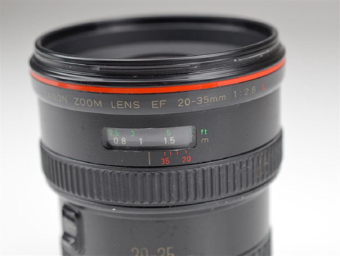 """Canon 20-35mm """"L""""  Zoom Wide Angle Lens - 5"""