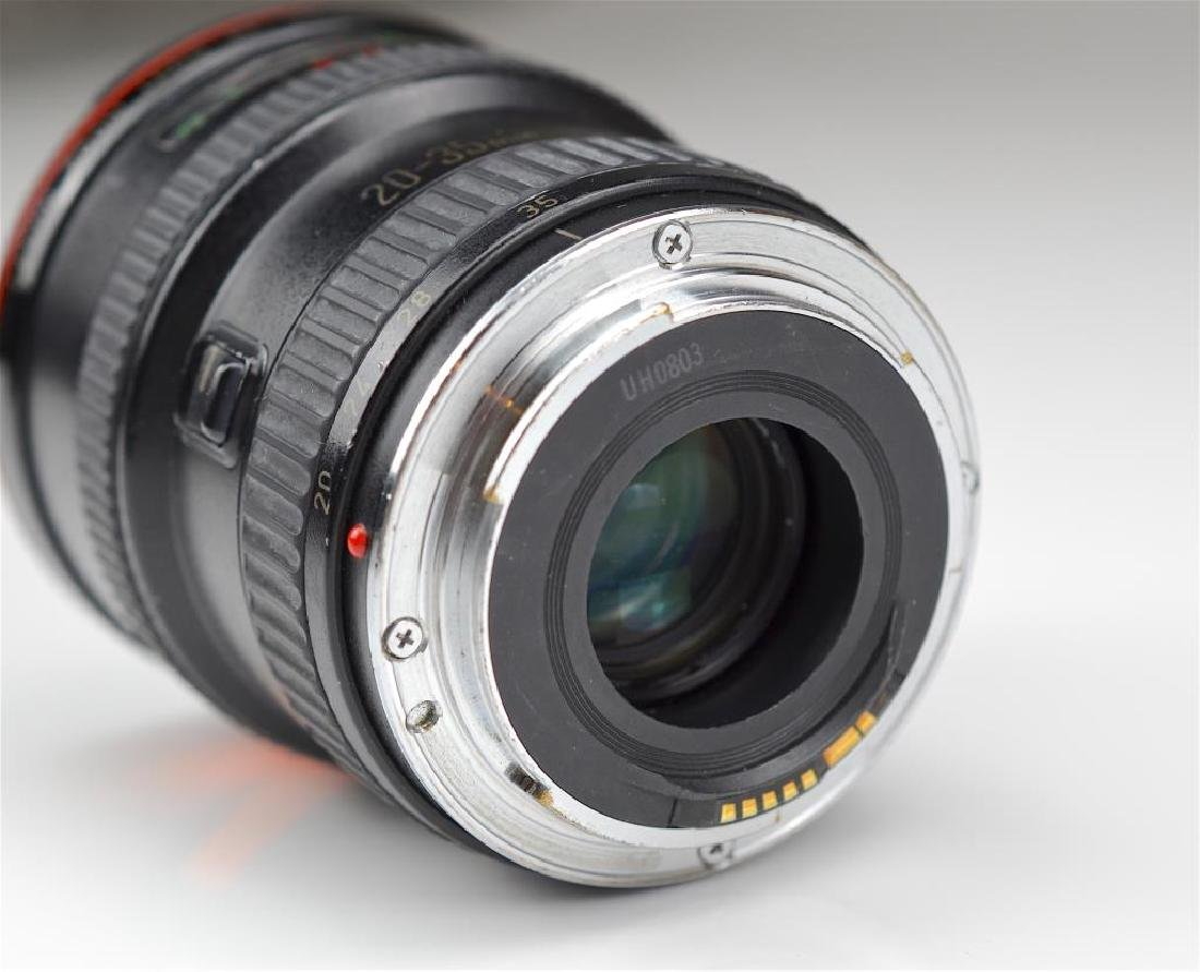"""Canon 20-35mm """"L""""  Zoom Wide Angle Lens - 7"""
