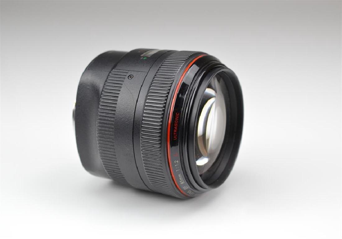 """Canon 85mm """"L"""" Ultrasonic f=1:1.2 USM Lens"""
