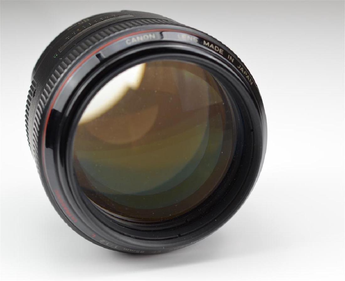 """Canon 85mm """"L"""" Ultrasonic f=1:1.2 USM Lens - 3"""