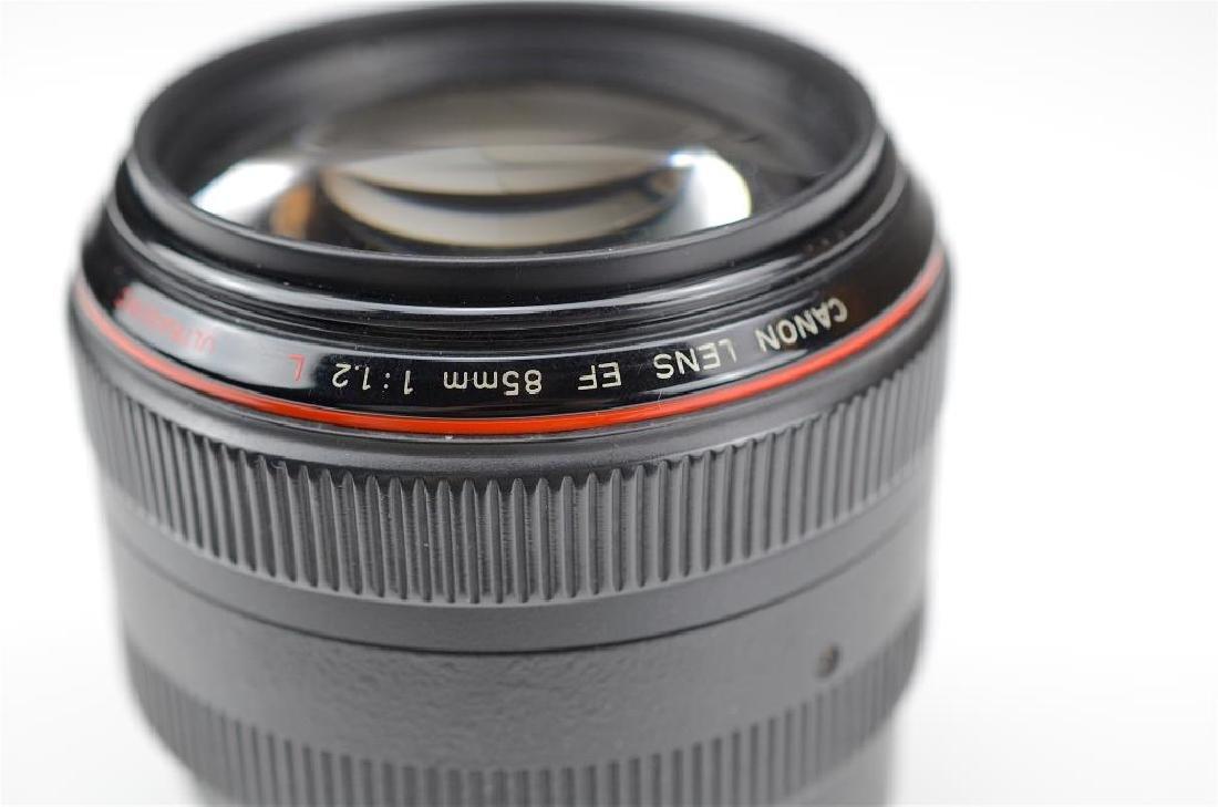 """Canon 85mm """"L"""" Ultrasonic f=1:1.2 USM Lens - 4"""