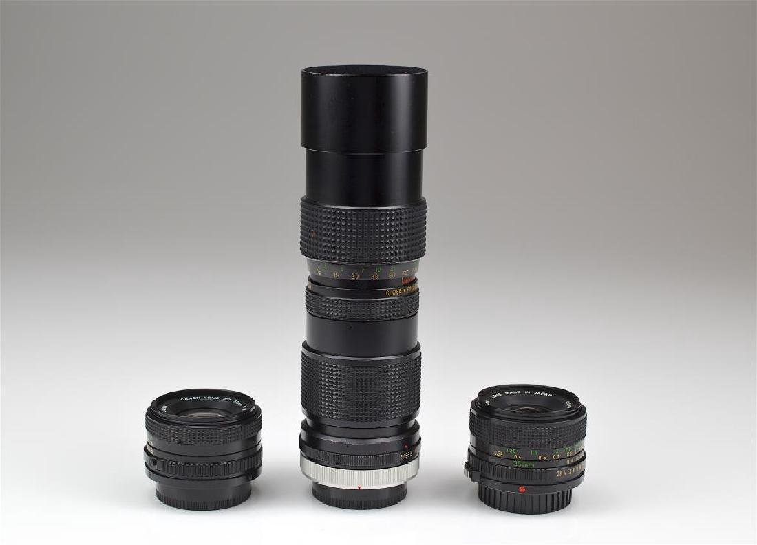 Three Canon Camera Lenses - 2