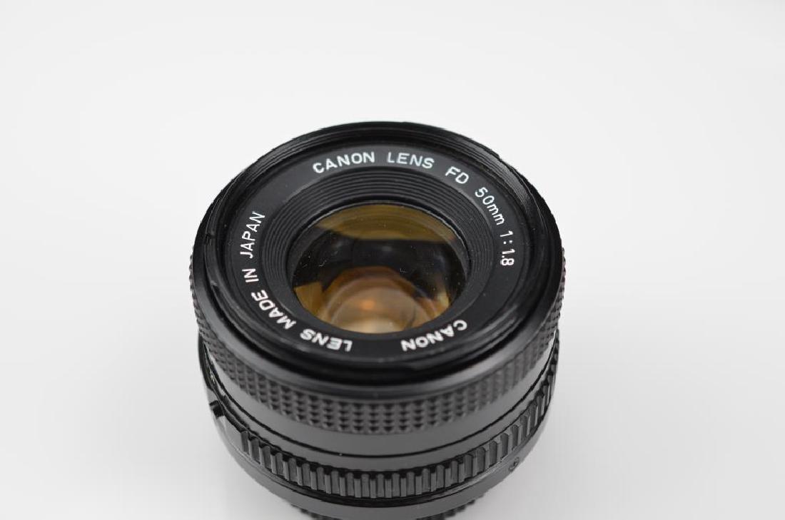 Three Canon Camera Lenses - 3