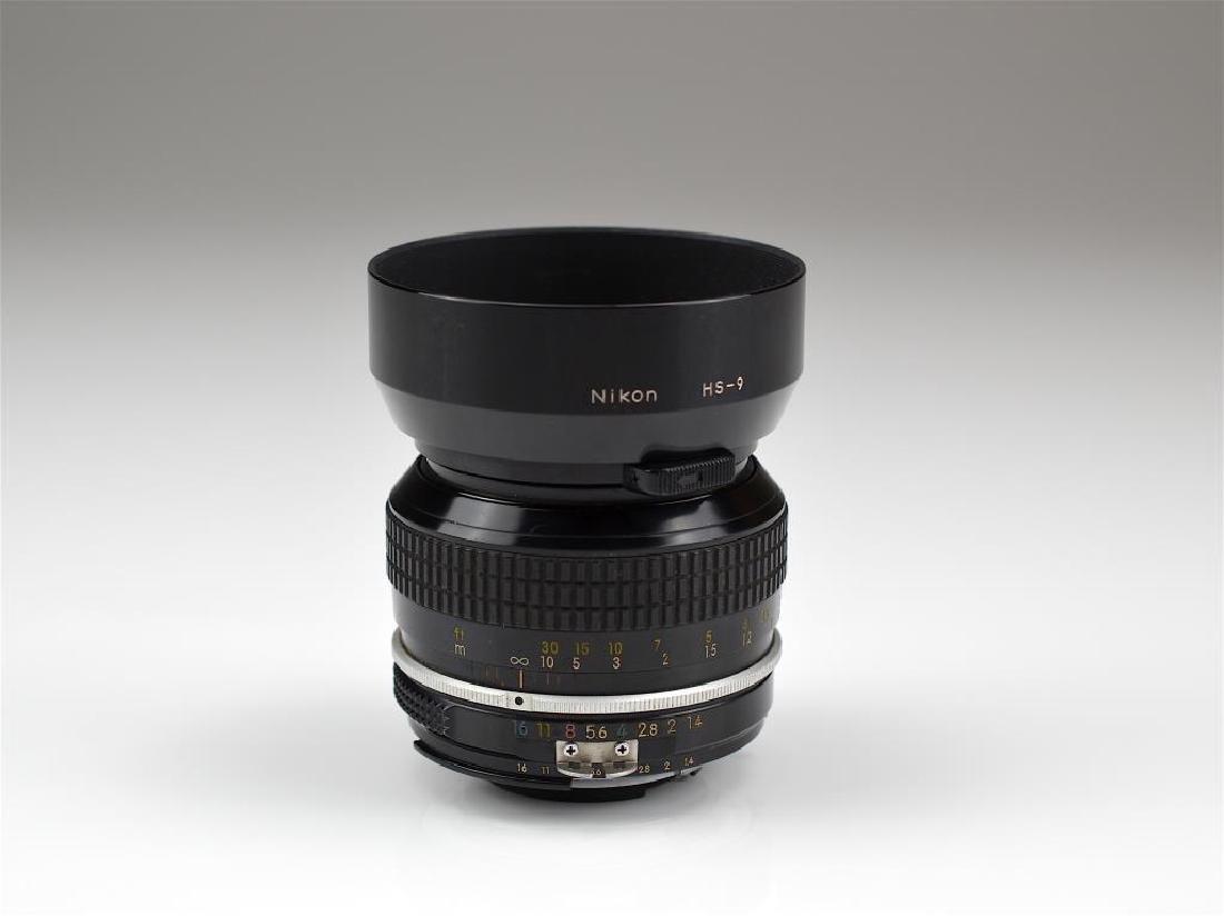 Nikon 50mm Nikkor F f=1:1.4 Lens