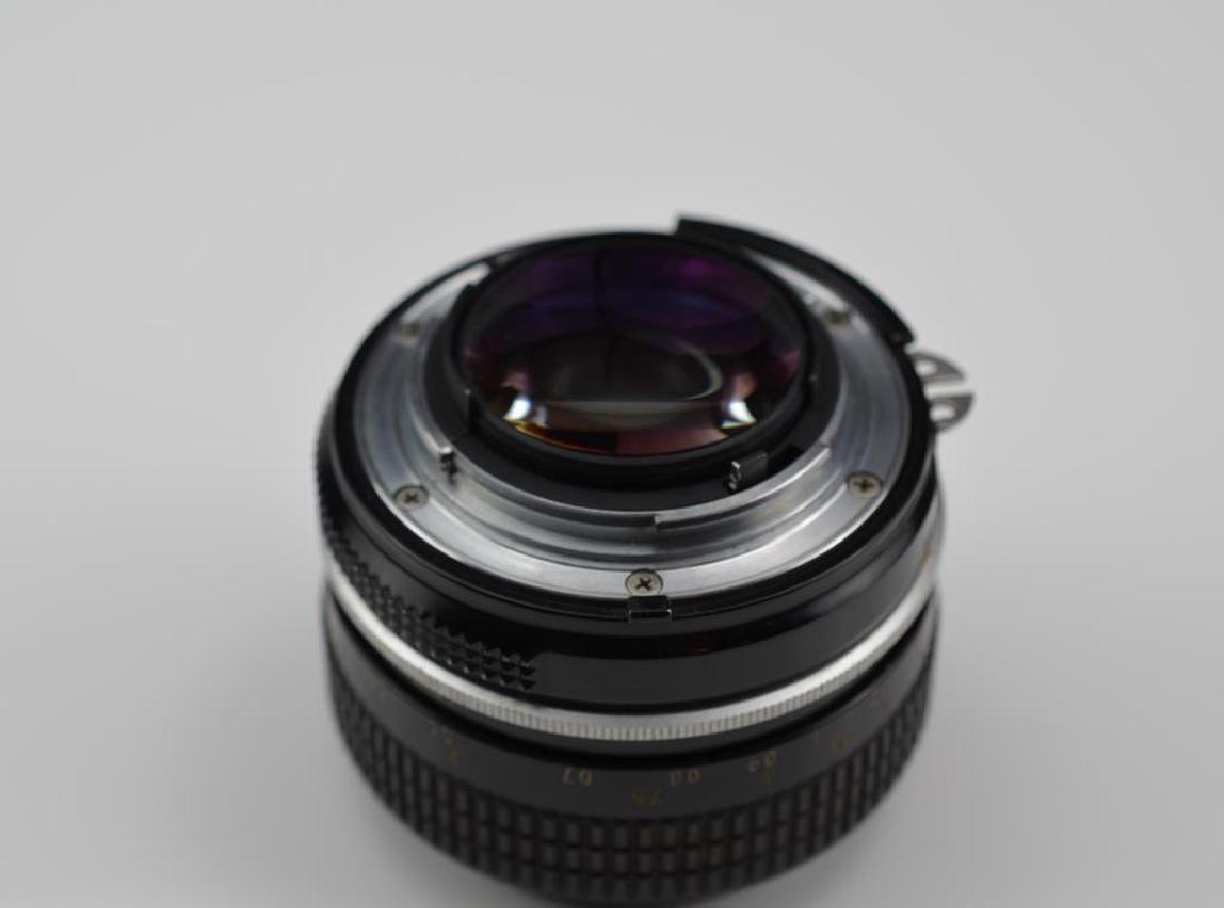 Nikon 50mm Nikkor F f=1:1.4 Lens - 5