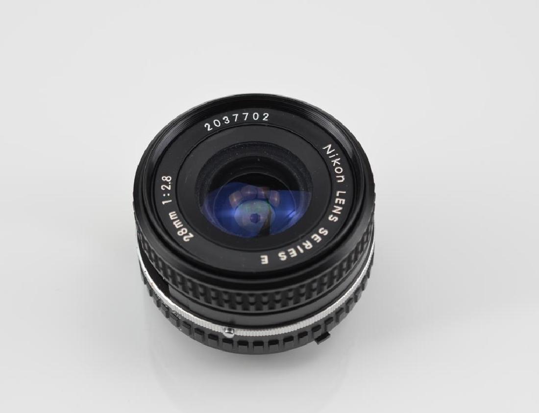 Nikon 28mm Series E AIS f=1:2.8  Lens - 3