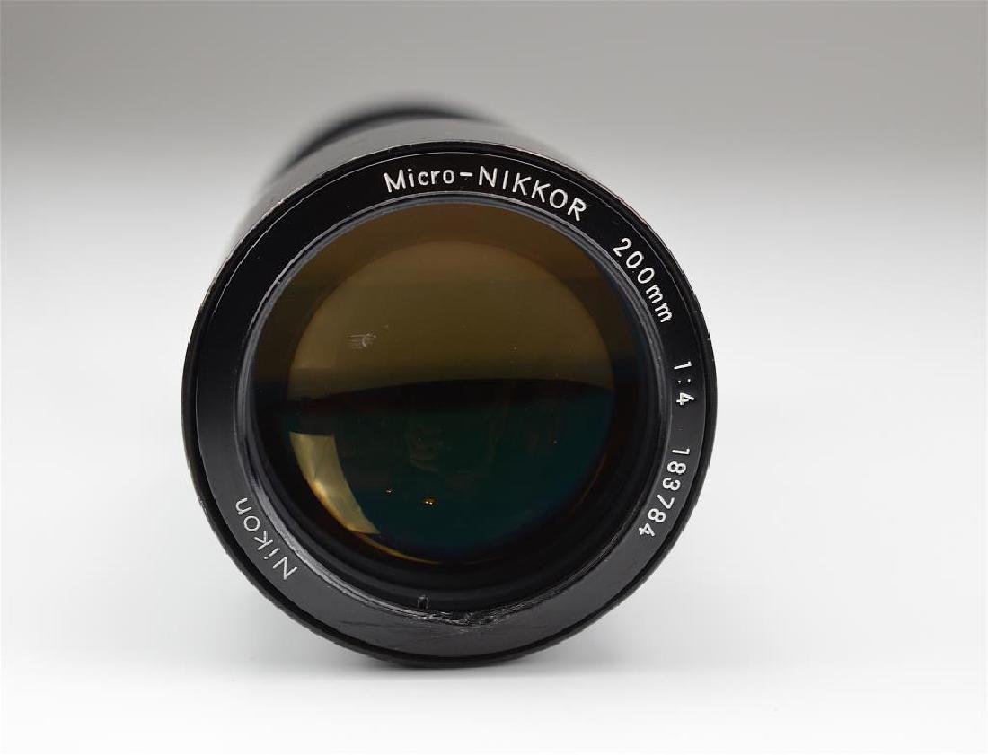Nikon 200mm Micro-Nikkor Lens - 3