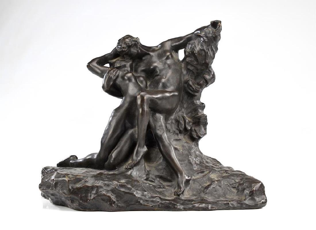 Eternal Spring bronze, signed Auguste Rodin