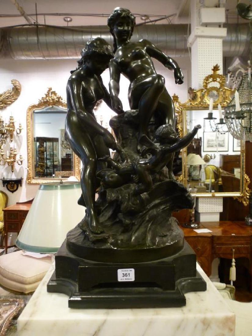 Bronze figural sculpture by Edouard  DROUOT