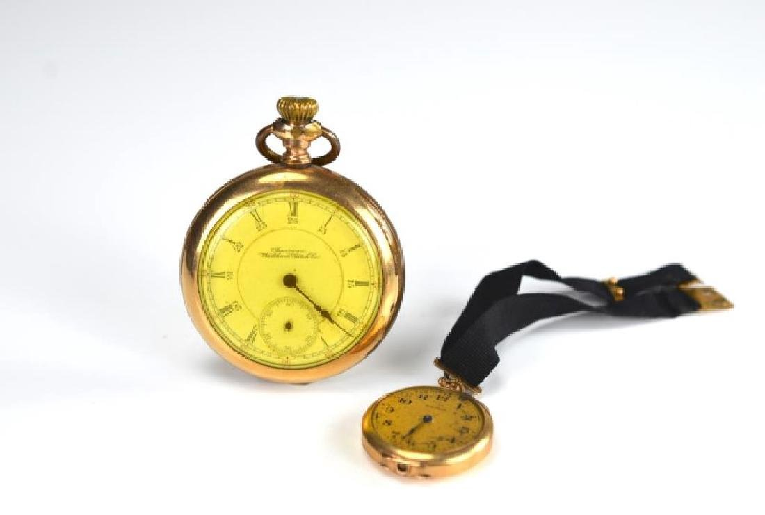 Two Waltham gold-filled pocket watches