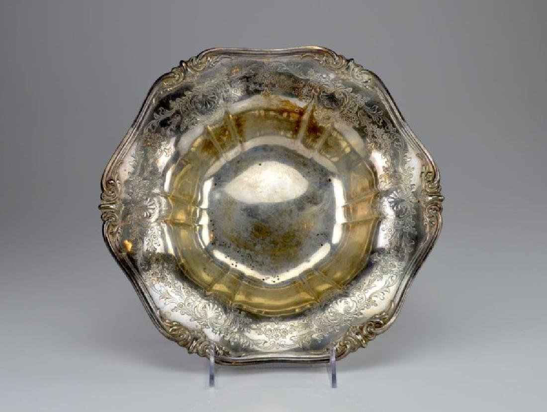 American Frank M. Whiting & Co. silver bowl