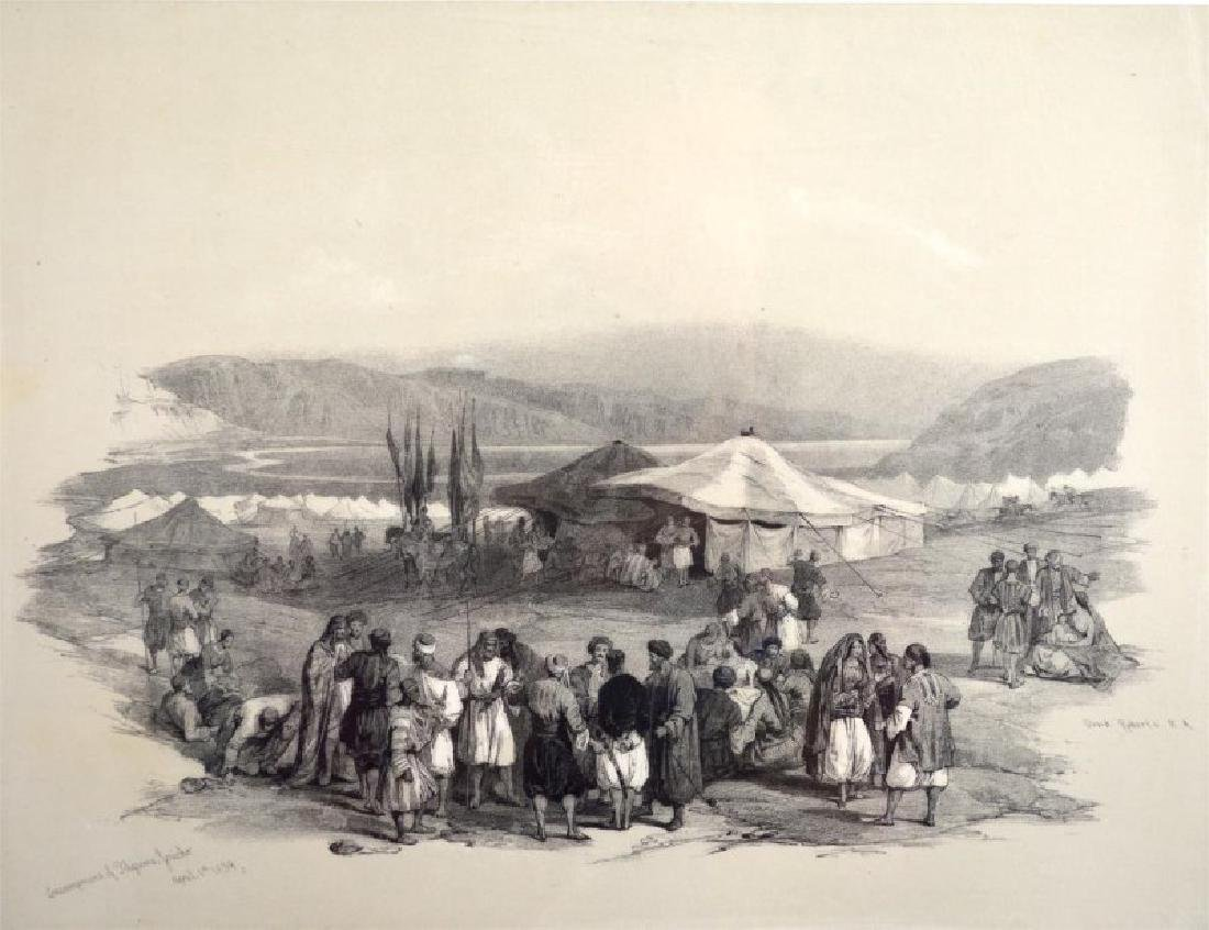 DAVID ROBERTS (1796- 1864)SET OF FOUR LITHOGRAPHS