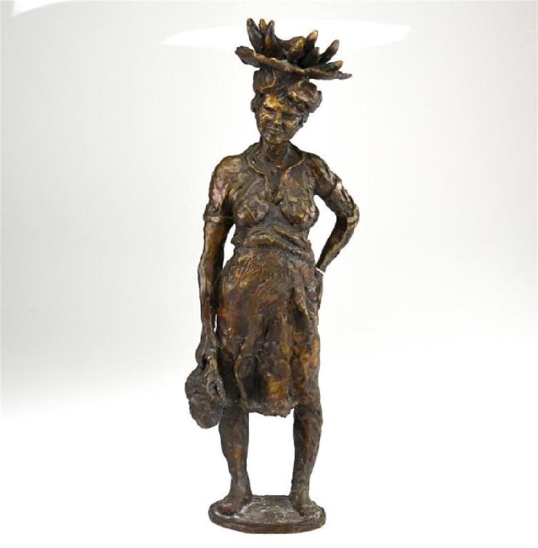Boobis-Chanin bronze sculpture