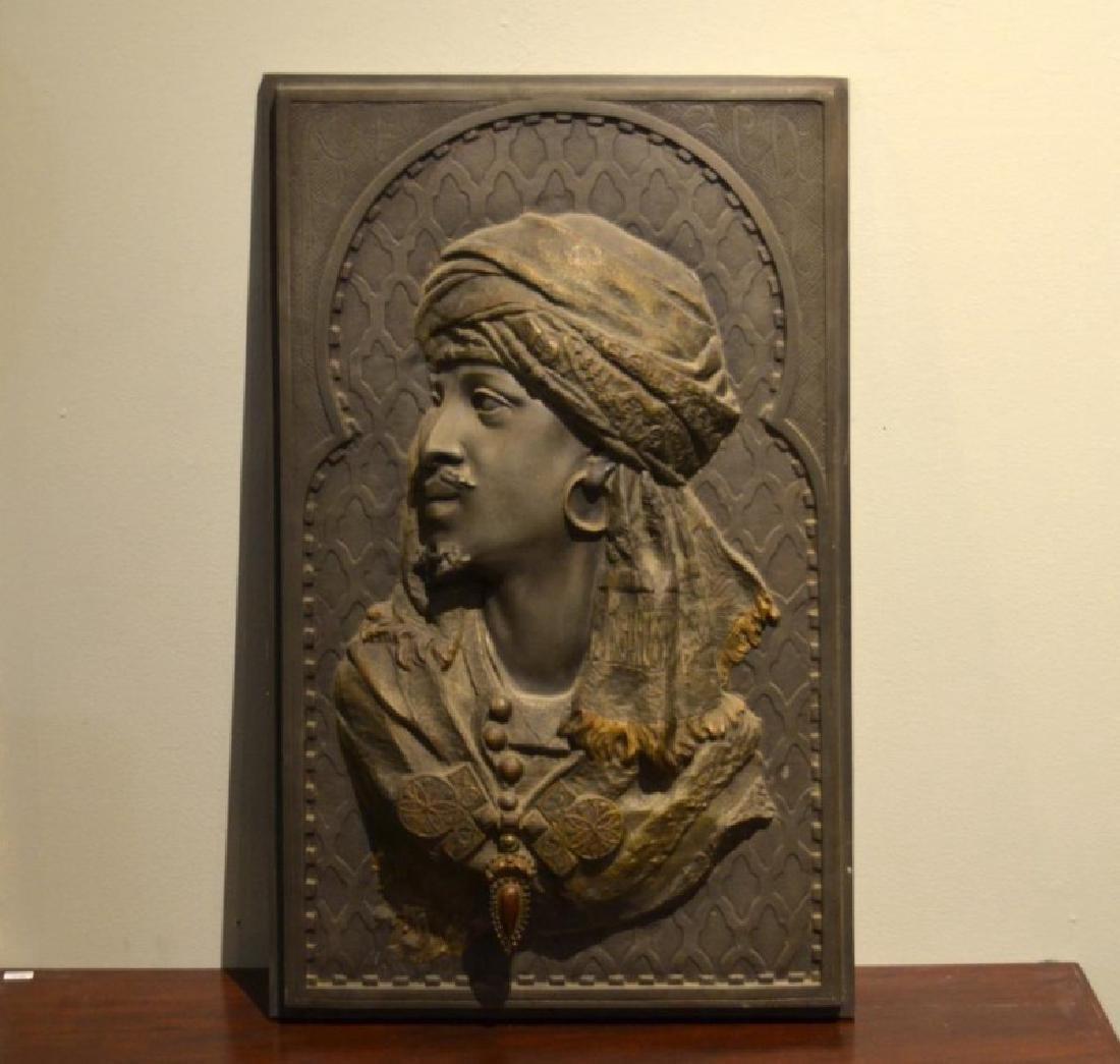 Arthur WAAGEN (German, 1833-1898) bronze plaque
