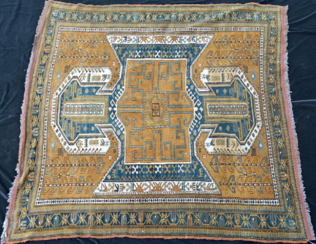 Caucasus gold-brown rug