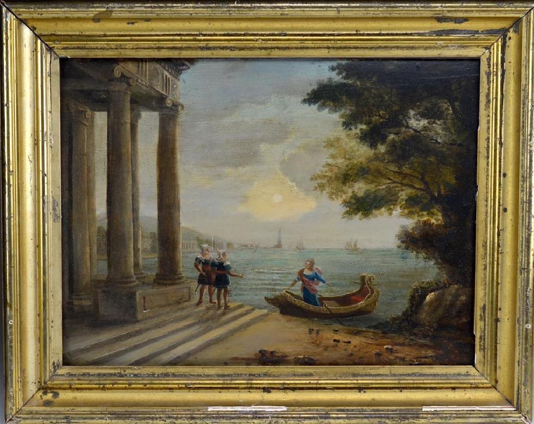 18th C Italian school, oil on panel