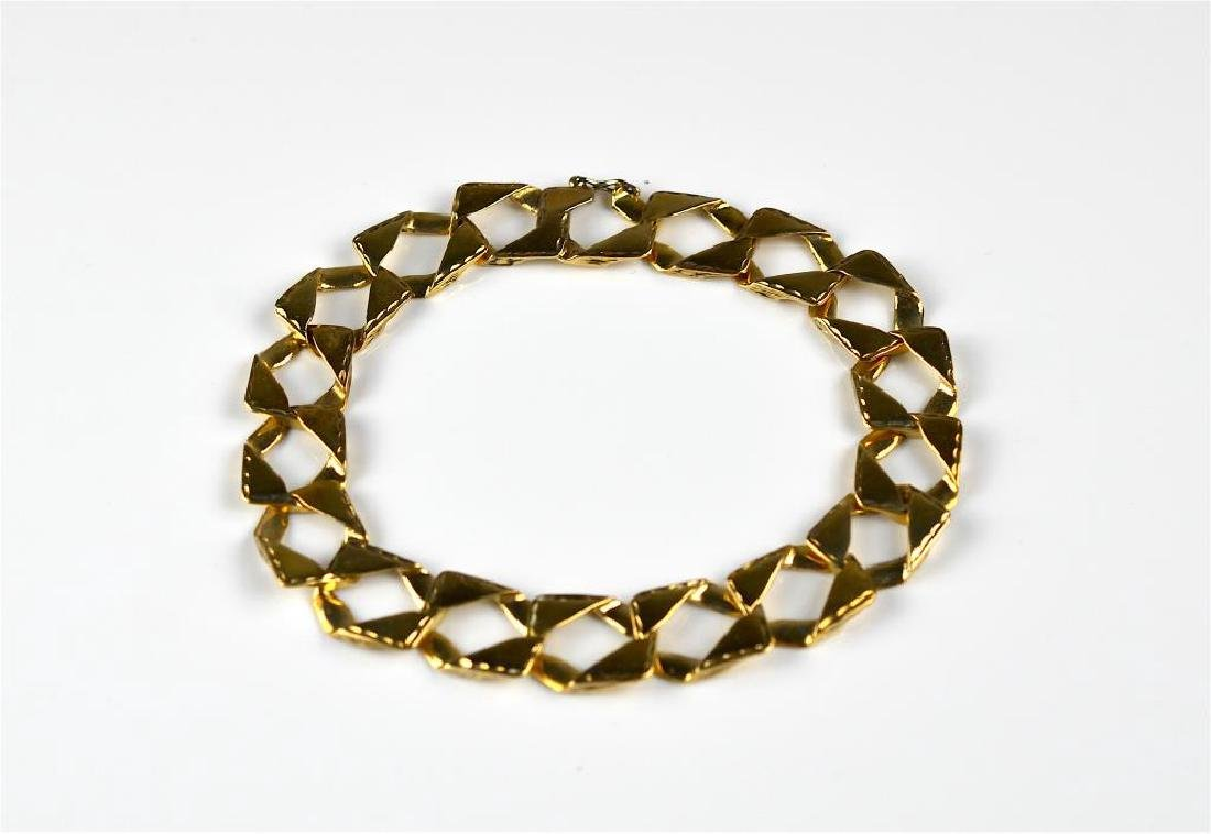 10k yellow gold bracelet