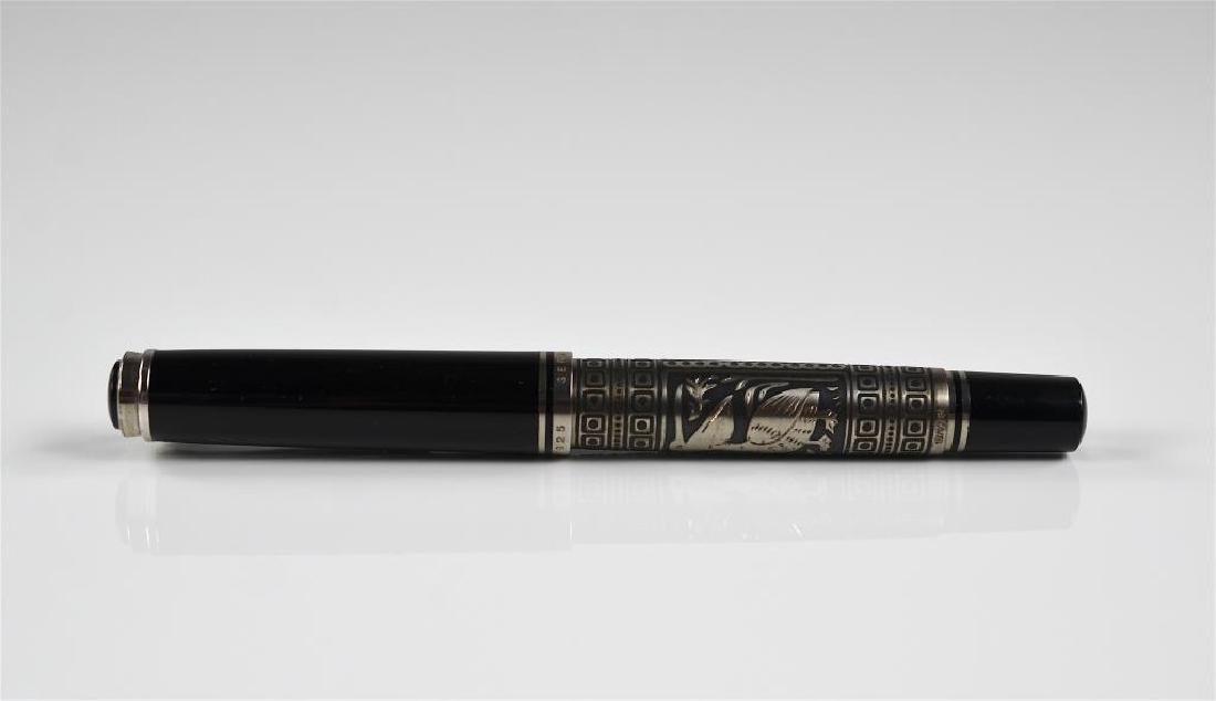 Pelikan silver mounted fountain pen - 4