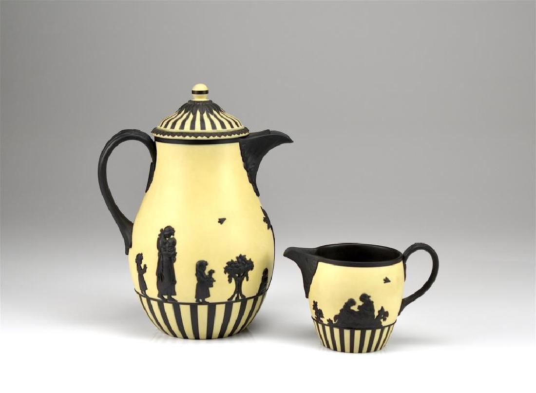 Wedgwood Jasperware partial coffee set