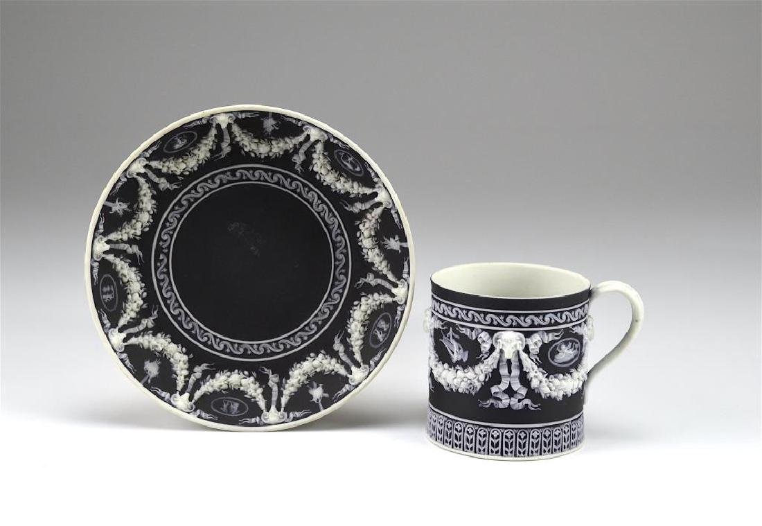 Wedgwood Jasperware cup and saucer w/ another - 2