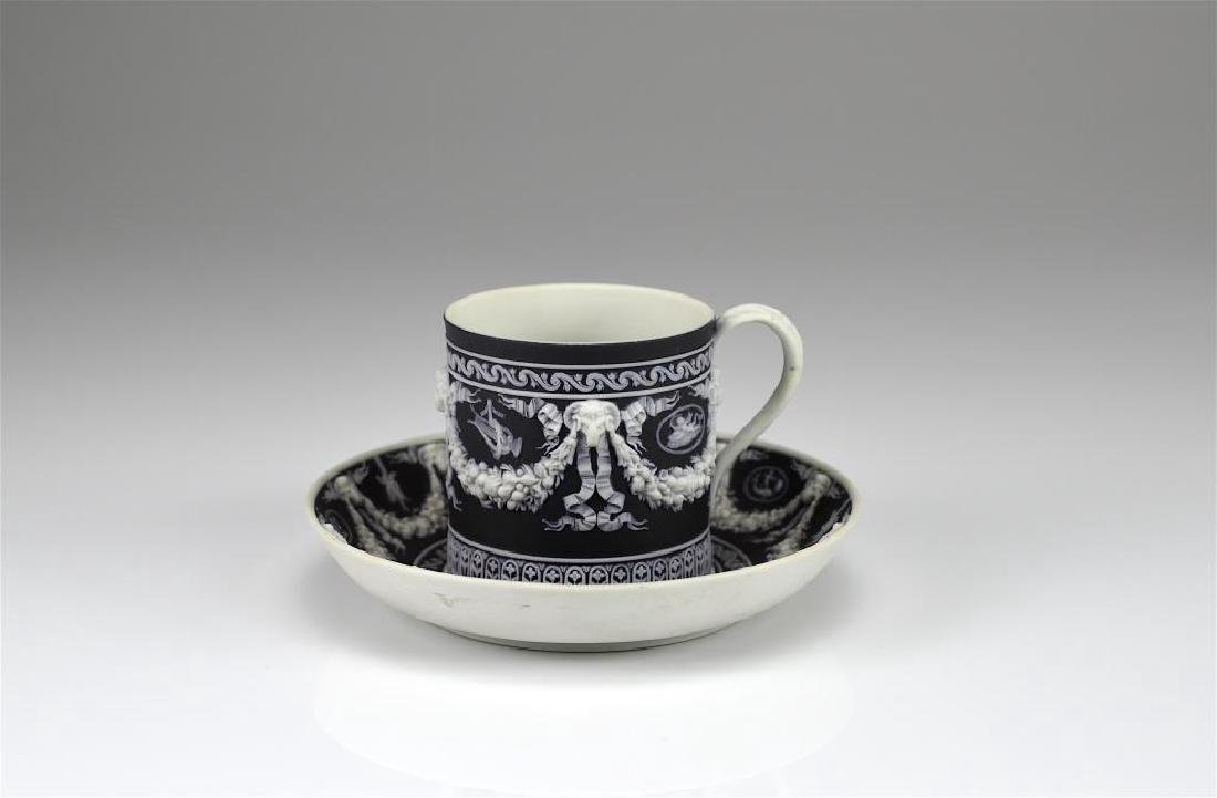 Wedgwood Jasperware cup and saucer w/ another - 4