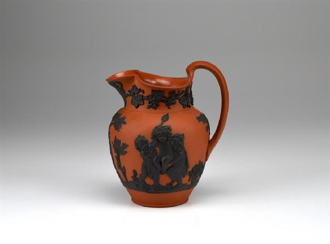 Wedgwood terracotta Jasperware jug