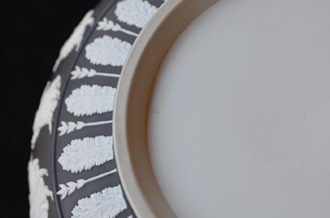 Wedgwood black basalt Jasperware center bowl - 5