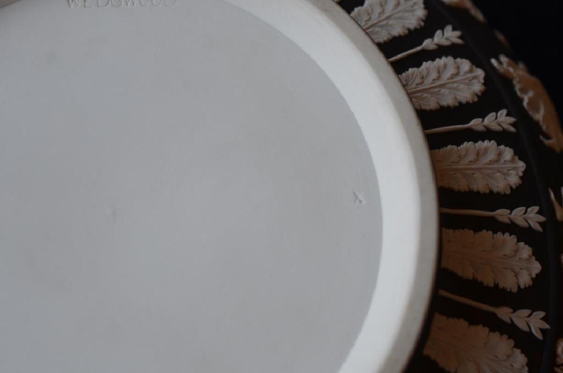 Wedgwood black basalt Jasperware center bowl - 6