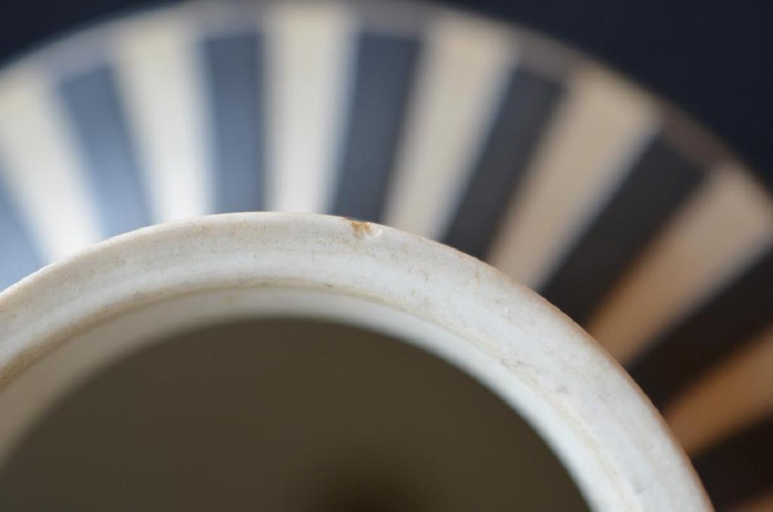 Wedgwood black basalt Jasperware covered vase - 8