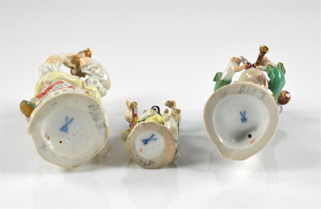 Three Meissen German porcelain figures - 3