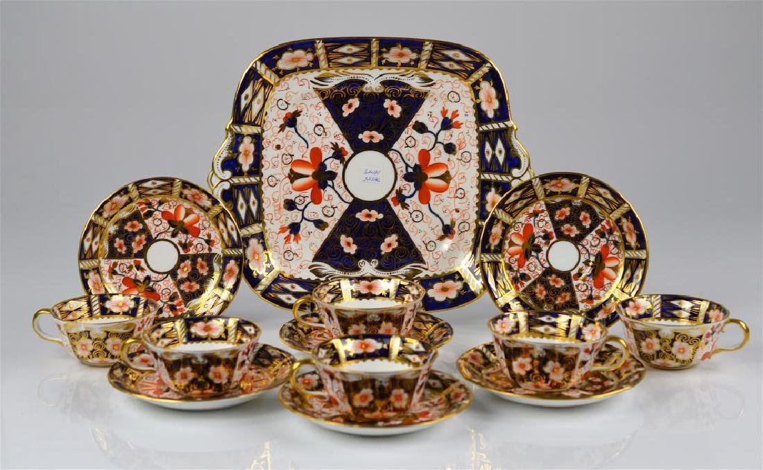 Lot of Royal Crown Derby Imari 2451 porcelain