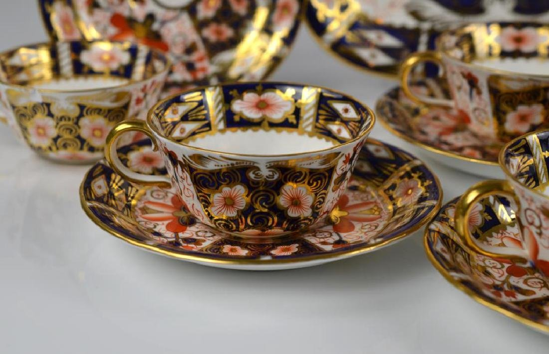 Lot of Royal Crown Derby Imari 2451 porcelain - 3
